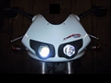 Picture of 03/07 BUELL XB9R/XB12R FIREBOLT H3 100 WATT BLUE HALOGEN HEADLIGHT BULB ( # XBRR.H3.100B )