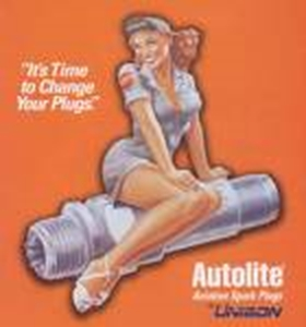 Picture of AUTOLITE 4164 x 4 RACING SPARK PLUGS ( # 4164.X4 )