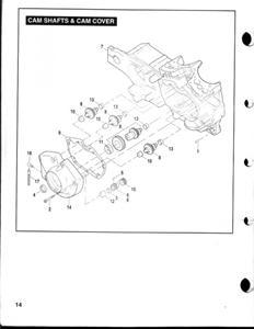 03-07 BUELL XB SERIES 00-07 BUELL P3 BLAST SERIES OEM BUELL CAMSHAFT GEAR  CASE / COVER GASKET ( # 25353-00YB )
