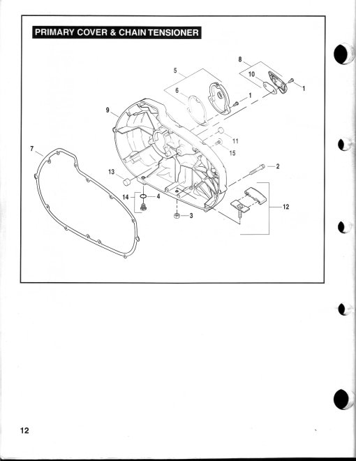 0000179_03 10 buell xb series 00 09 buell p3 blast series oem buell clutch inspection cover gasket 25377 03a ironmachine parts for the bolts 03 10 buell xb series 00 09 buell blast wiring diagram at gsmportal.co