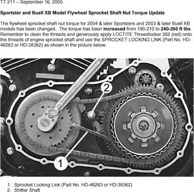 03-10 BUELL XB SERIES 95-02 TUBE FRAME 00-09 P3 BLAST SERIES IRONMACHINE  PRIMARY DRIVE SPROCKET LOCKING TOOL ( # BUHD SL TL )