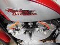 Picture of 86-03 H-D XL SPORTSTER  IRONMACHINE RACING 8MM ORANGE SPARK PLUG WIRE SET ( # XL86.PW.OR )