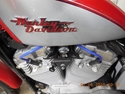 Picture of 86-03 H-D XL SPORTSTER  IRONMACHINE RACING 8MM BLUE SPARK PLUG WIRE SET ( # XL86.PW.BL )
